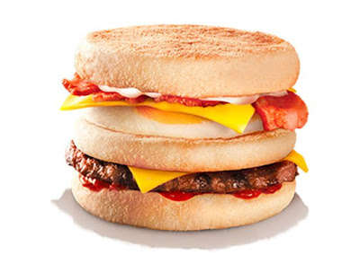 Breakfast Burger Hybrids - Burger King New Zealand Added a Decadent Breakfast Sandwich to Its Menu