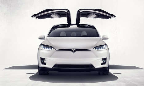 Fast Electric Sport Vehicles - The All-New Tesla Model X Boasts Speed, Safety and Modern Features