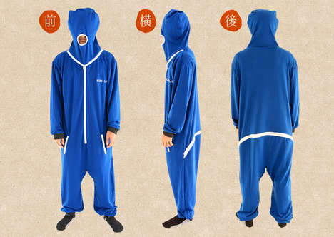 Bizarre Full Body Onesies - The Dame Gi Onesie Ensures You Stay Warm and Cozy