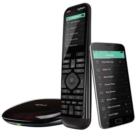 Smart Home-Controlling Remotes - The Logitech Harmony Elite Remote Makes Home Automation Easy