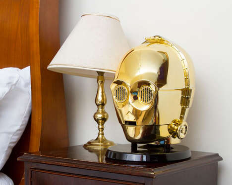 Galactic Wireless Speakers - These Cinematic Star Wars Busts are Actually Bluetooth Speakers