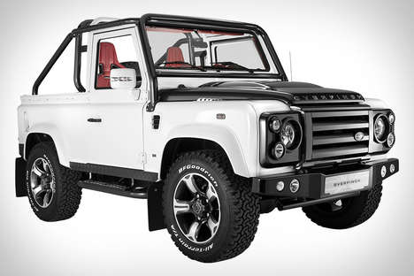 Bespoke Expedition Vehicles - The Overfinch Defender SVX Features Customized Components