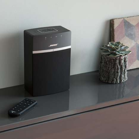 Connected Speaker Systems - The Bose SoundTouch 10 Wireless Music System Provides a Rich Experience