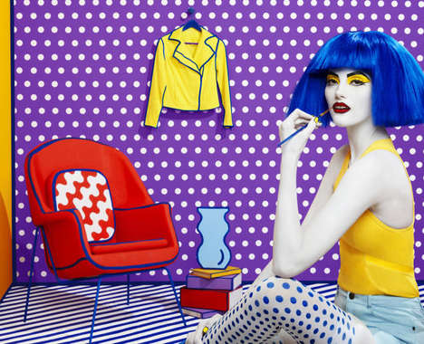 Pop Art Fashion Campaigns