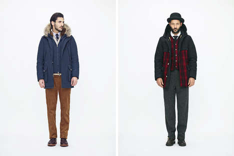 Celebratory Outwear Collections - The Woolrich 185th Anniversary Collection Marks an Iconic Moment