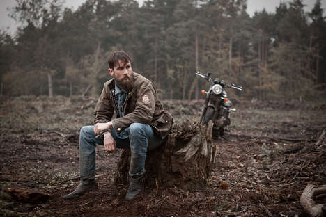 British Heritage Outerwear - The Barbour & Triumph Motorcycles Capsule Collection is Rugged