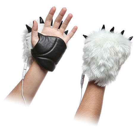Heated Yeti Hands - These Hand Warmers Charge up Through a USB Connection