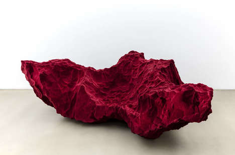 Rocky Stone Sofas - These Modern Sofas Look Like They're Made from Space Craters