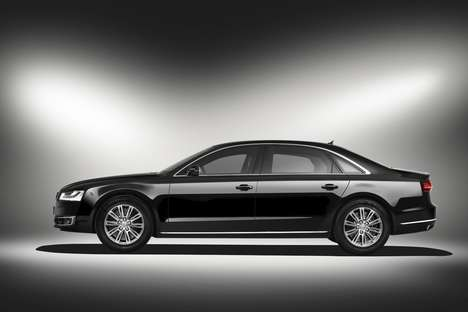 Security-First Cars - The Audi A8 L Security is Fitted With Contraptions to Keep Occupants Secure