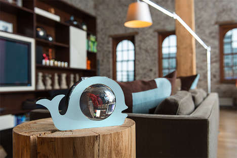 Animalistic Fishbowls - These Zooquarium Fish Tanks Add a Whimsical Touch to Your Home