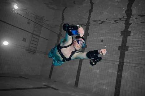 Aquatic Jetpacks - The X2 Sport Underwater Jet Pack Provides Ample Power When Below the Surface