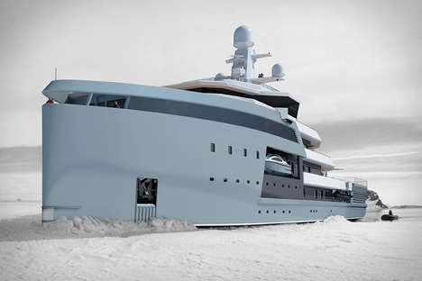 Arctic-Ready Yachts - The Seaxplorer Expedition Yacht is Prepared to Sail Hot or Cold Destinations