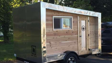 Weekend-Getaway Trailers - The Drifter Trailer Has All the Fundamental Features You Need