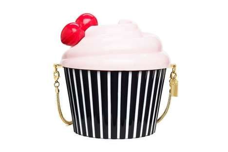 Haute Dessert Handbags - Kate Spade's Collaboration with Magnolia Bakery Features Cupcake Purses