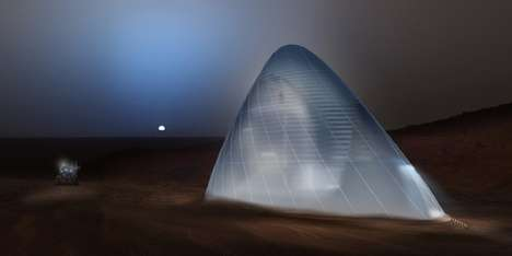 Icy Martian Shelters - The Ice House Concept Could Be Used to House Humans On Mars