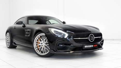 Upgraded Luxury Cars - The Brabus AMG GT S Features Additional Horsepower and Torque