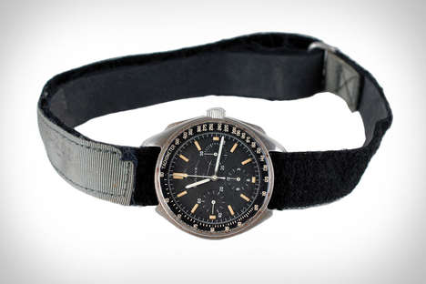 Moon Landing Timepieces - This Bulova Chronograph Watch Was Worn By Dave Scott on the Lunar Surface