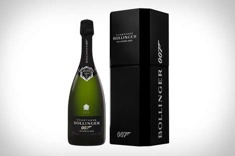 Secret Agent Champagnes - The Bollinger Spectre 2009 Champagne Celebrates the New Film
