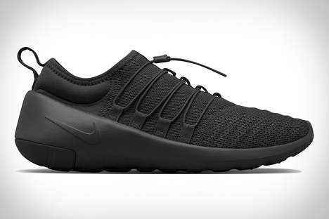 Unibody Construction Sneakers - The Nikelab Payaa's Are Crafted Using a Single Piece of Material