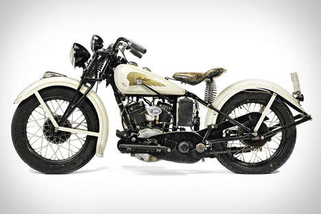 Iconic Actor Motorcycles - This 1934 Indian Sport Scout Motorcycle Was Driven By Steve McQueen