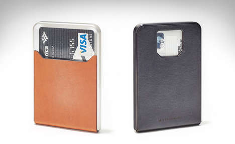Easy Access Wallets - Your Days of Fumbling for Card is Over With the Grovemade Minimalist Wallet