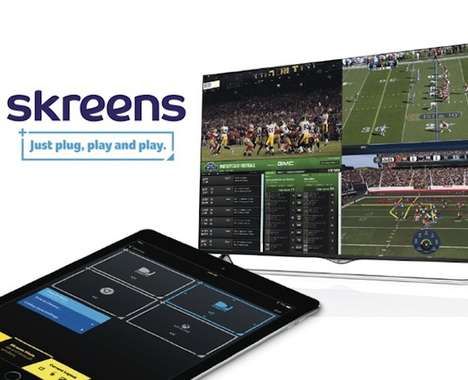 Screen-Splitting Devices