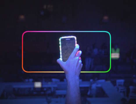 Chromatic LED Smartphone Cases - The Glowme Smart Case Glows Different Colors for Different Alerts