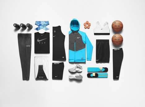 Female-Focused Basketball Apparel - This Collection is Specially Designed for Female Athletes