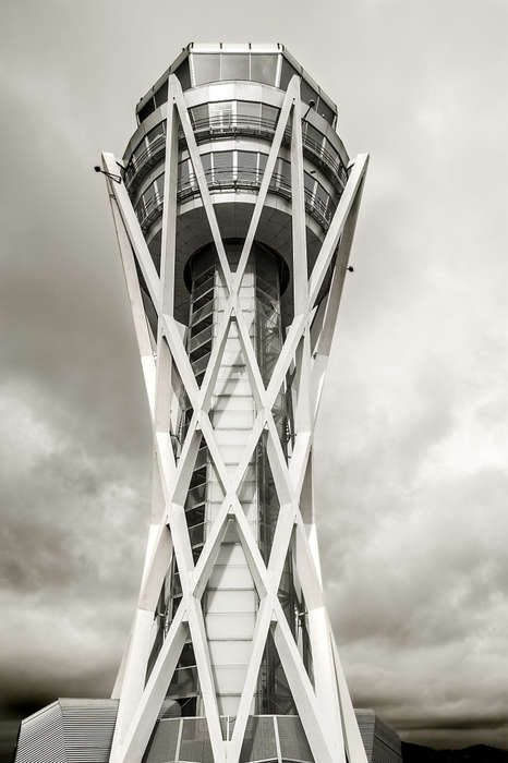 Airport Tower Photography - Carolyn Russo Captures the Beauty in Airport Traffic Towers