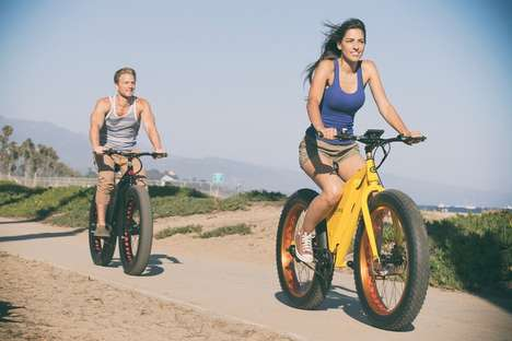 All-Terrain Electric Bicycles - The Sondors Electric Bike is Designed for High Speed and Comfort
