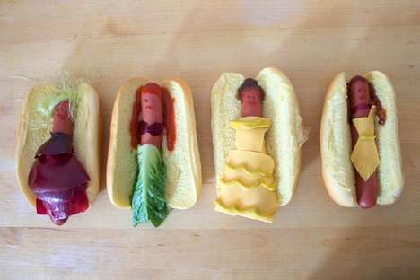 Disney Princess Hot Dogs - Gabriella Paiella and Anna Hezel Crafted Yummy Characters From BBQ Food