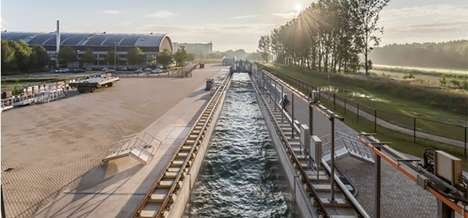 Man-Made Wave Generators - The Delta Flume Makes the World's Largest Man-Made Waves for Dyke Testing