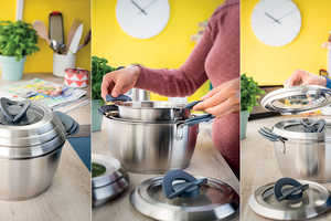 The Tefal Ovation Collection Ensures a Space-Saving Design