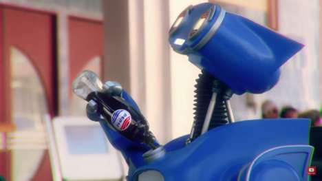 Futuristic Film Beverages - These 'Pepsi Perfect' Bottles Celebrate Back to the Future II