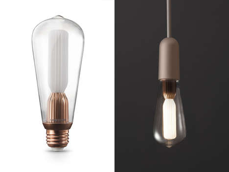 Antique-Inspired LED Bulbs - The Samsung Classic Bulb Takes a Nod From an Old Design Aesthetic
