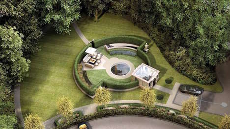 Eco-Friendly Underground Mansions - This Luxe Underground Dwelling Minimizes the Use of Green Space