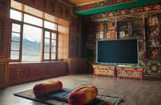 This Monastery Lets Consumers Binge Watch Their Favorite Shows in Peace