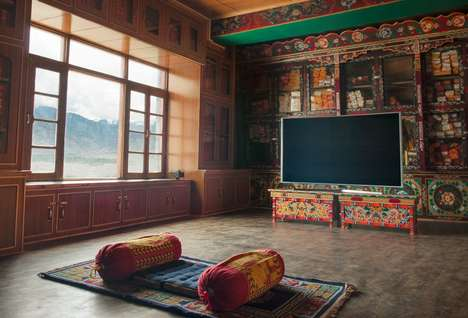 Television-Themed Retreats - This Monastery Lets Consumers Binge Watch Their Favorite Shows in Peace