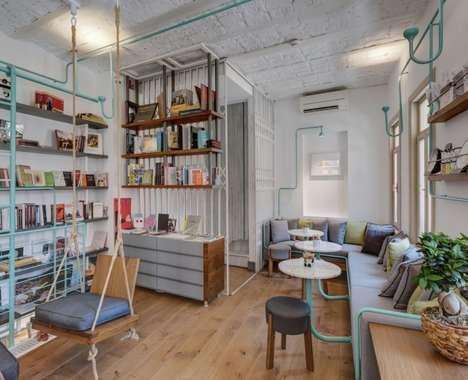 Hybrid Bookshop Cafes
