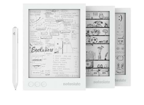 Digital Notepads - The Noteslate SHIRO Features an E Ink Screen and Impressive Battery Life