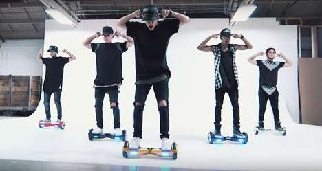Segway Dance Videos - This Choreographed Cover is Set to Justin Bieber's 'What Do You Mean'
