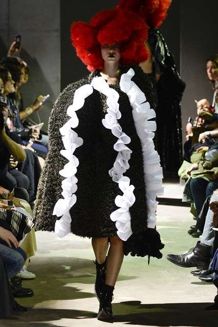 Exaggerated Coven Couture - The Comme des Garcons Spring Line Offers Bewitching Over-the-Top Attire
