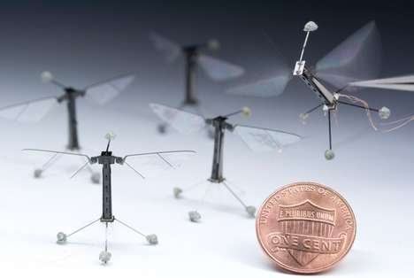 Miniature Robotic Insects - The Harvard RoboBee is Now Capable of Aquatic Feats