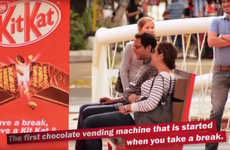 Chocolate-Rewarding Ad Campaigns