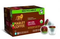 Easily Recyclable Coffee Capsules - These Eco-Friendly Pods are Easy to Separate and Clean