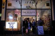 Pop-Up Makeup Boutiques - H&M's Temporary Beauty Space Celebrates Its New Makeup Line
