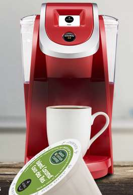 Organic Coffee Capsules - The 'Green Mountain' Coffee Pods are Organic and Certified Fair Trade