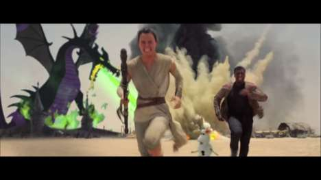Galactic Disney Mashups - This Trailer is the Perfect Mashup of Disney and Star Wars Movies