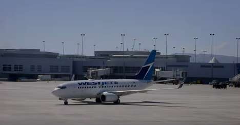 Unexpected Airline Adventures - Westjet Provided Customers with an Upgraded Vegas Experience