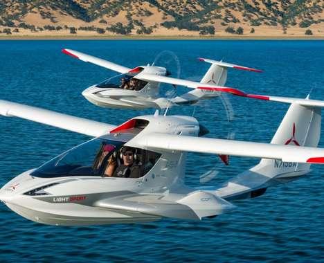 Amphibious Private Jets